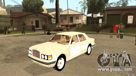 Bentley Turbo RT for GTA San Andreas