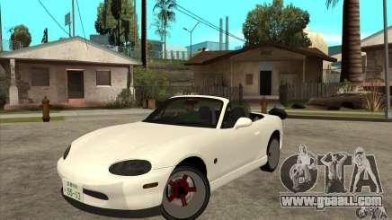 Mazda MX-5 JDM Convertible for GTA San Andreas