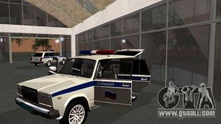 VAZ 21047 Police for GTA San Andreas