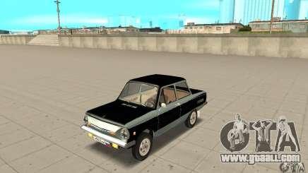 ZAZ 968 m ver 1.0 for GTA San Andreas