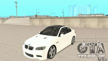 BMW M3 2008 for GTA San Andreas