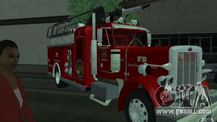 Peterbilt 379 Fire Truck ver.1.0 for GTA San Andreas