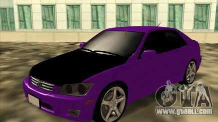 Lexus IS300 - Stock for GTA San Andreas