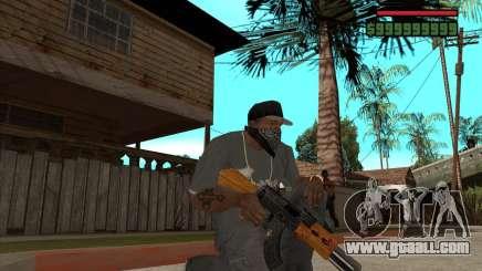 AK 47 of Xenus 2 for GTA San Andreas