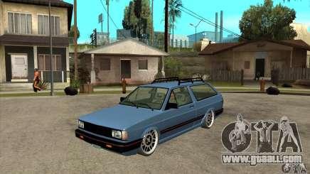 VW Fox 1989 v.2.0 for GTA San Andreas