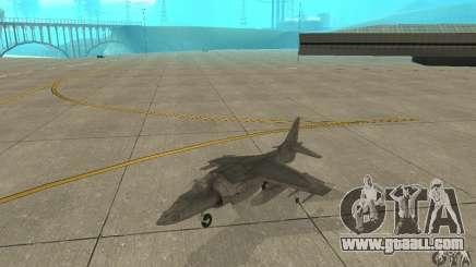 AV-8 Harrier for GTA San Andreas