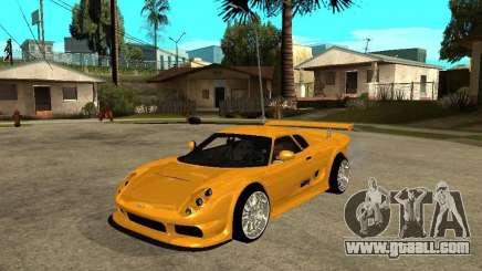Noble M12 GTO Beta for GTA San Andreas