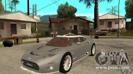 Spyker C8 Aileron for GTA San Andreas
