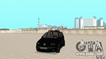 Volkswagen Touran 2006 Police for GTA San Andreas