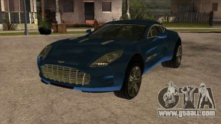Aston Martin One77 for GTA San Andreas