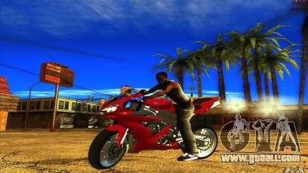 Yamaha YZF R1 Tuning Version for GTA San Andreas