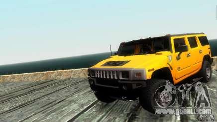 Hummer H2 Tunable for GTA San Andreas
