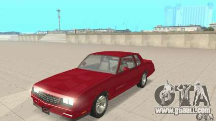 Chevrolet Monte Carlo SS 1986 for GTA San Andreas