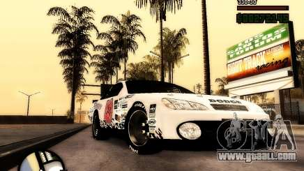 Dodge Nascar Beers Light 40 for GTA San Andreas