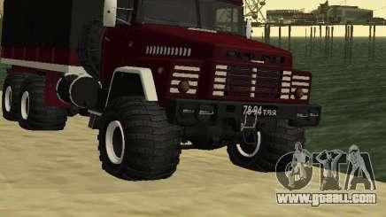 KrAZ 260 for GTA San Andreas