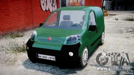 Fiat Fiorino 2008 Van for GTA 4