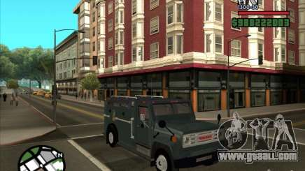 GMC 6000 Armored Truck 1985 for GTA San Andreas