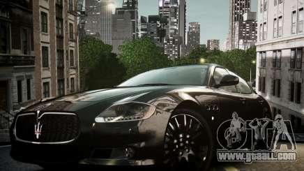 Maserati Quattroporte Sport GTS 2011 for GTA 4