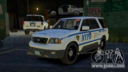 Ford Expedition Truck Enforcement for GTA 4
