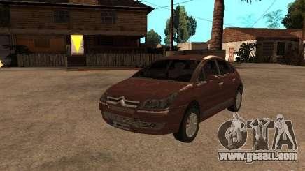 Citroen C4 for GTA San Andreas