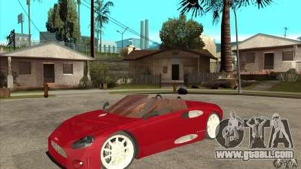 Spyker C8 Spyder for GTA San Andreas