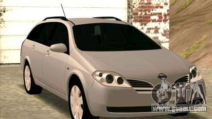 Nissan Primera Wagon for GTA San Andreas