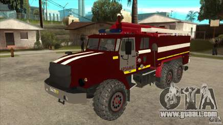 Ural 43206 firefighter for GTA San Andreas