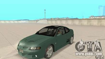 Vauxhall Monaro VXR Open SKY 2004 for GTA San Andreas