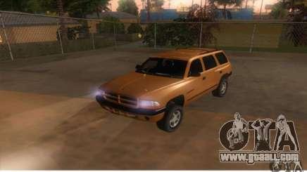 Dodge Durango 1998 for GTA San Andreas