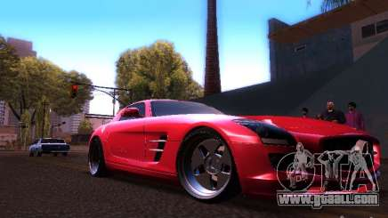Mercedes-Benz SLS AMG for GTA San Andreas