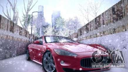 Maserati Gran Turismo S 2011 V2 for GTA San Andreas