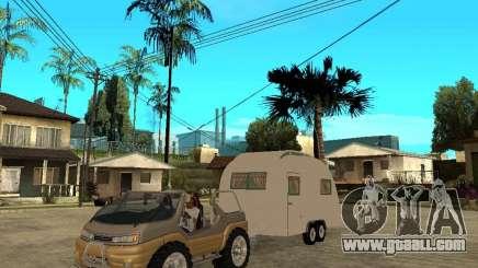 Ford Intruder 4x4 Concept + Caravan for GTA San Andreas