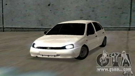 Lada Kalina Hatchback Stock for GTA San Andreas