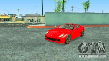 Ferrari 599 GTB for GTA San Andreas