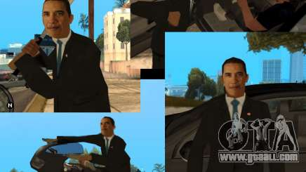 Barack Obama in the Gta for GTA San Andreas