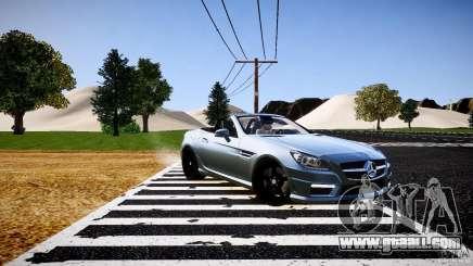 Mercedes-Benz SLK 2012 for GTA 4