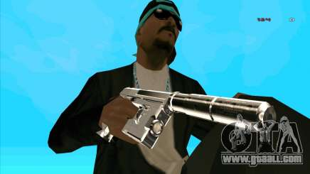 Chrome Weapon Pack for GTA San Andreas