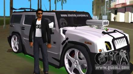 AMG Hummer H2 Hard Tuning v2 for GTA Vice City