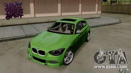 BMW M135i V1.0 2013 for GTA San Andreas