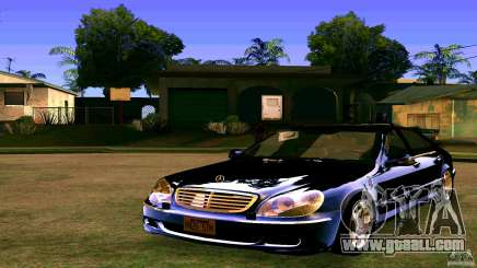Mercedes S500 for GTA San Andreas