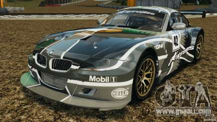 BMW Z4 M Coupe Motorsport for GTA 4