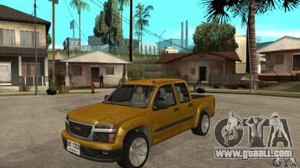 GMC Canyon 2007 for GTA San Andreas