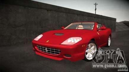 Ferrari 575 Superamerica v2.0 for GTA San Andreas