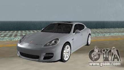 Porsche Panamera Turbo Tunable for GTA San Andreas