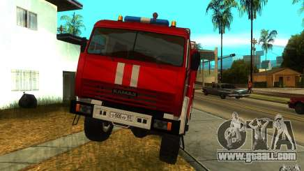 KAMAZ 43118 AC-7, 0-40 for GTA San Andreas