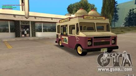 Chevrolet Forvard Control 20 Ice Cream for GTA San Andreas
