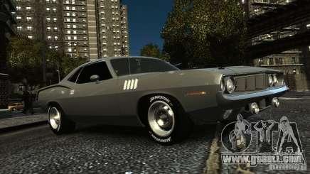 Plymouth Hemi Cuda 1971 for GTA 4
