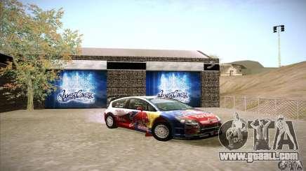 Citroen C4 WRC for GTA San Andreas