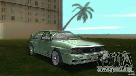 Audi Quattro for GTA Vice City