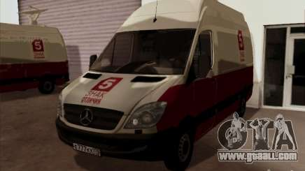 Mercedes-Benz Sprinter 5 Channel for GTA San Andreas